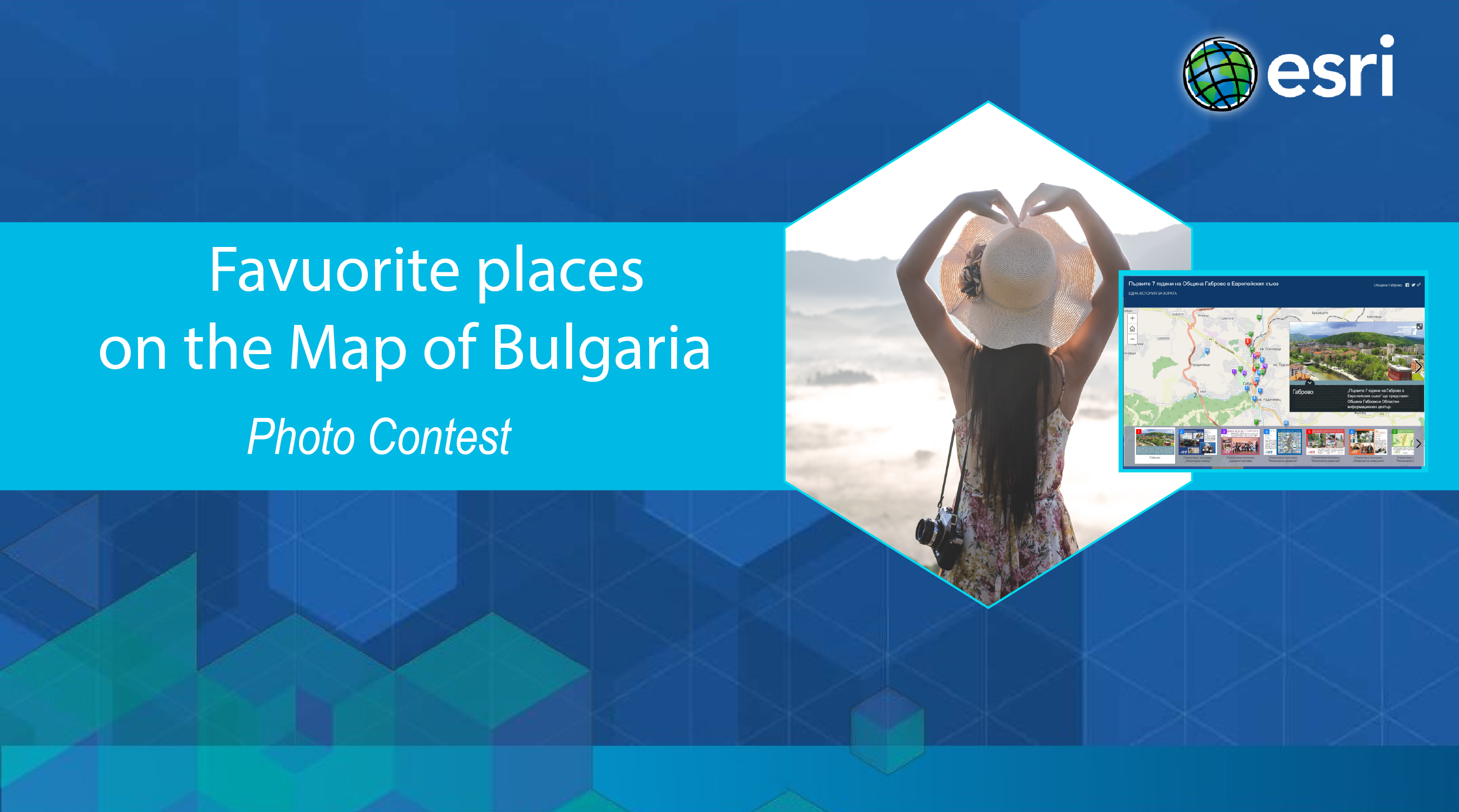 photo contest on a map